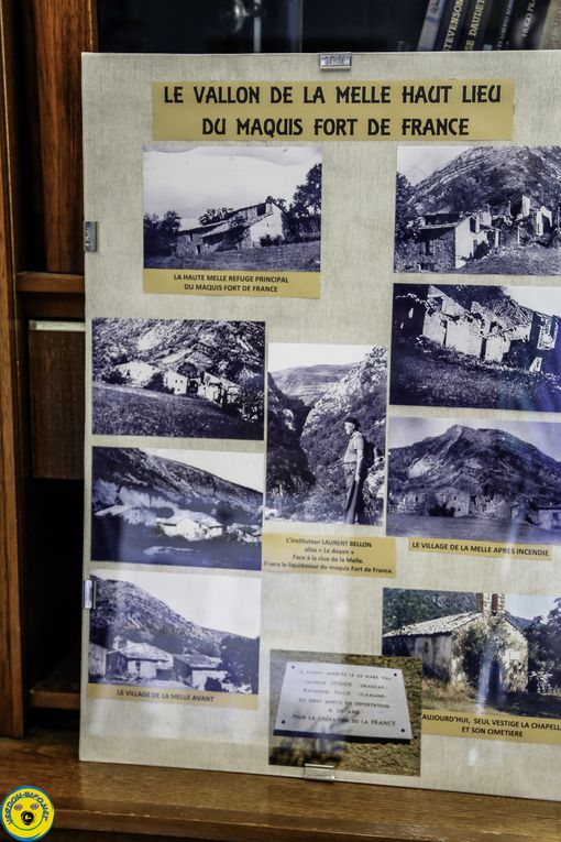 Castellane  : préparation de l'expo permanente  sur le  maquis fort de France  (Barrême) avec les archives de Renée Pascal Gibelin