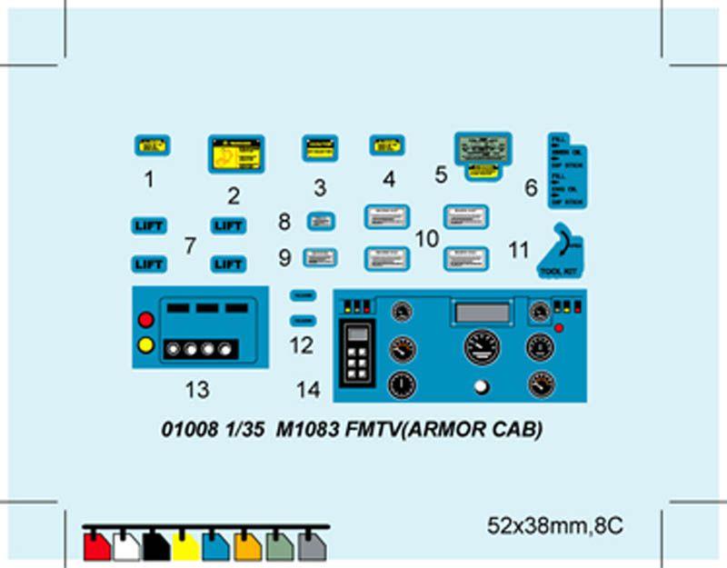 M1083 FMTV cabine blindée (Trumpeter - 1/35 - par Jean-François)