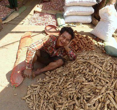 Mandalay  (8) ... Promenade dans le centre-ville