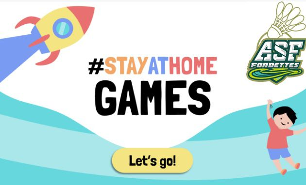 Stay at Home - Challenge ASF Bad
