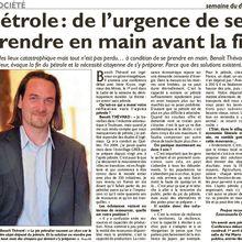 Le Républicain Lorrain: conférence à Thionville