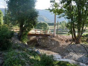 Le nouveau pont de la Forêt