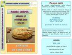 """Randonnée """"Pause Crêpes"""" : Samedi 17 février-Château de Cenevières"""