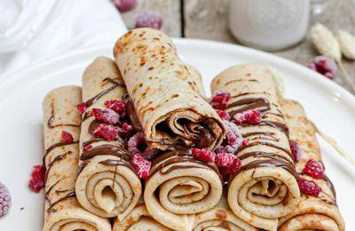 La recette des crêpes au froment moelleuses