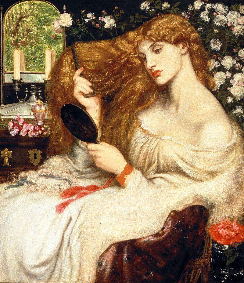 Lady Lilith - Dante Gabriel Rossetti
