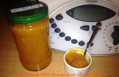 Marmelade d'orange au Thermomix