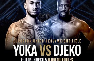 Tony Yoka vs. Joël Tambwe Djeko le 05 mars en direct sur Canal Plus