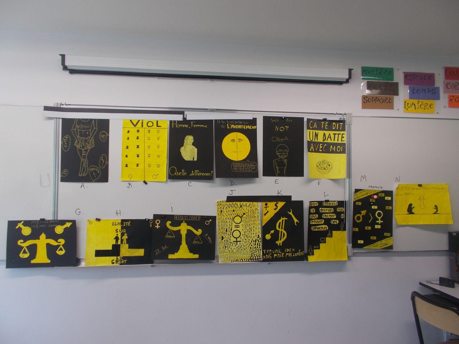 Charte graphique 3eG couleur : fond noir + jaune typo : libre éléments graphiques : dessin
