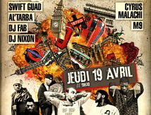 Affiche Concert Hiphop Paris vs London