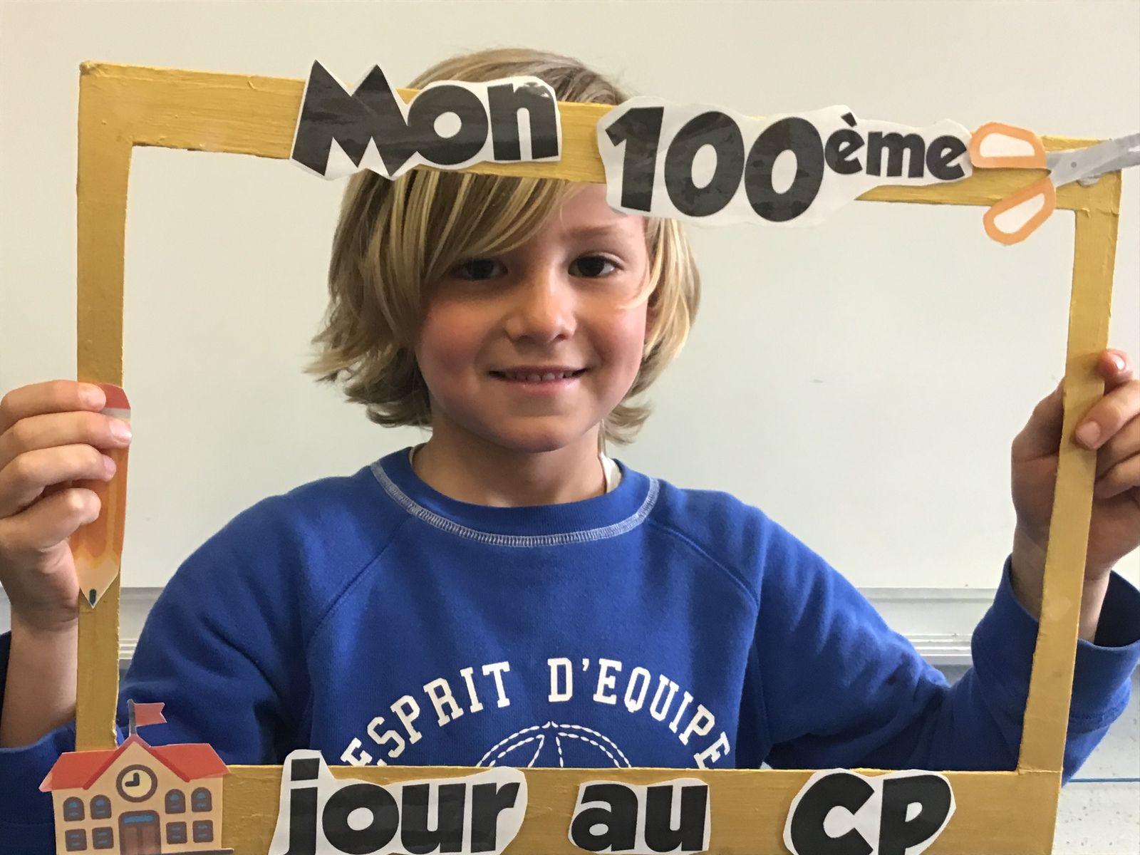 100 jours en classe de CP ( avec un peu de retard)