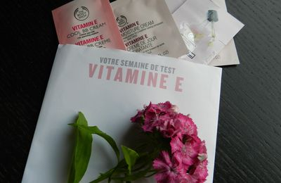 Routine Visage à la Vitamine E par The Body Shop: Semaine de Test