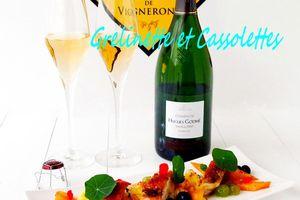 Pintade rôtie et Jus réduit, Accord Mets et Champagne pour le Concours Champagne en Cuisine