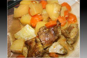 Sauté de porc aux épices à colombo (mijoteuse)