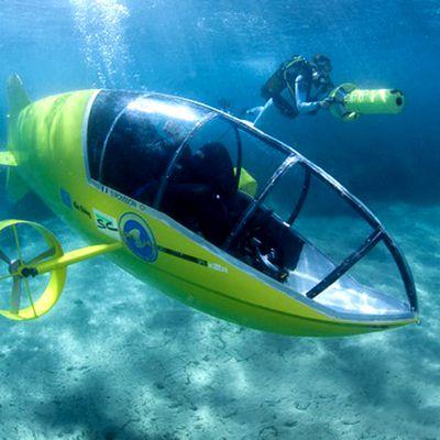 Les sous marin d'exploration