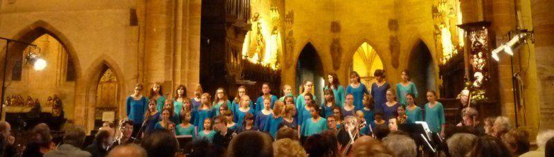 Concert à la Collégiale St Martin - Colmar