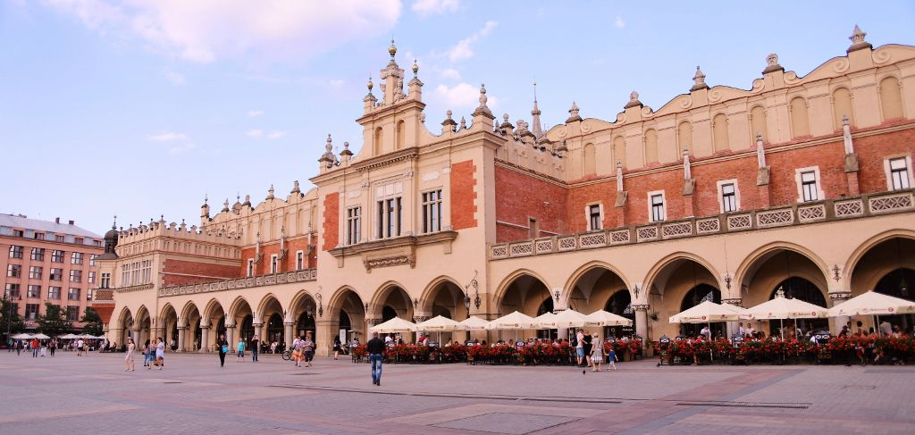 Place du marché Cracovie Pologne