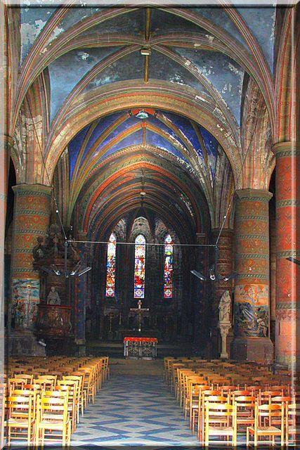 Diaporama église fortifiée Vervins