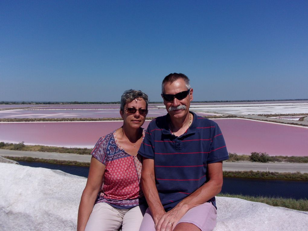 Les salines d'Aigues-Mortes