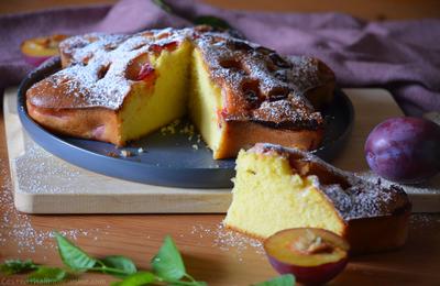 Gâteau de santé aux prunes