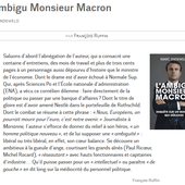 L'ambigu Monsieur Macron - Le blog de la section d'Hénin-Beaumont du Parti Communiste Français