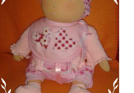 Rose:le Bébé de Mina