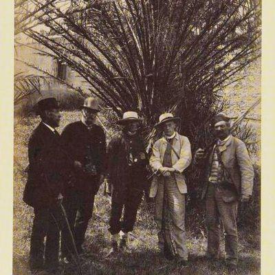 1886 : la famille OTLET au Levant