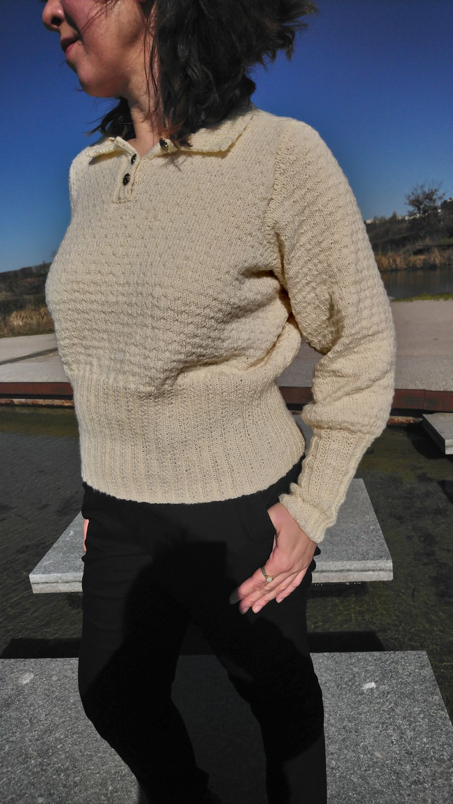 Patron tricot pull blouse femme