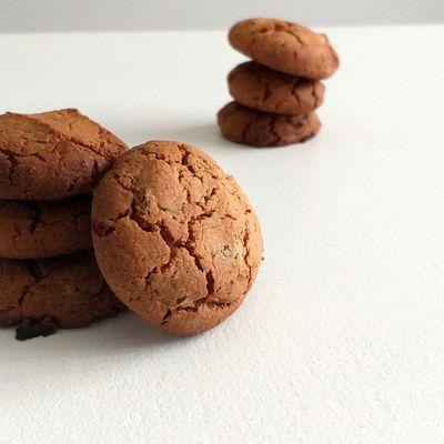 Cookies à la farine de châtaigne, pépite chocolat