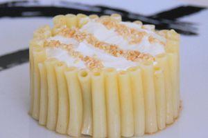 Ma hutte de macaroni - entrée froide de chèvre et ratatouille