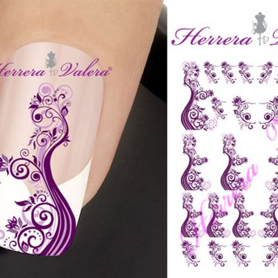 Les stickers d'ongles Nail Art