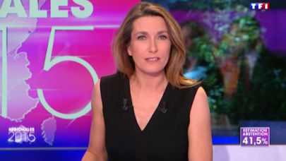 2015 12 13 - #REGIONALES2015 ANNE-CLAIRE COUDRAY sur tf1