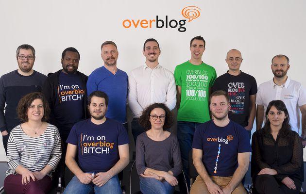 L'équipe Overblog