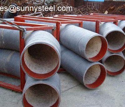 Ceramic tile lined bending