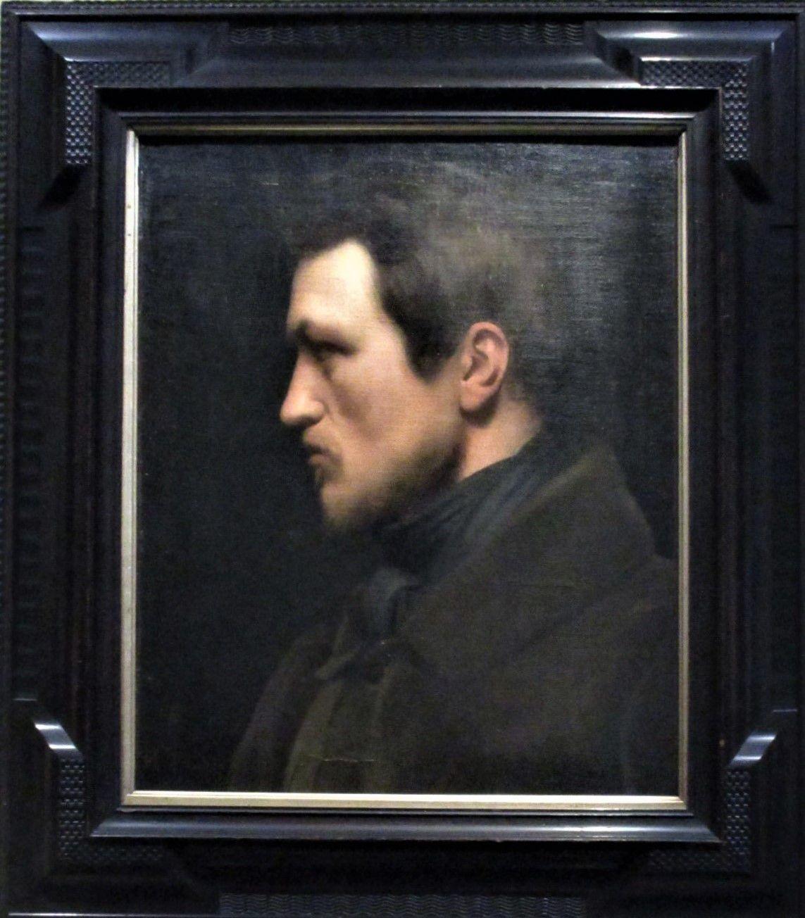 Autoportrait - Hippolyte Flandrin, vers 1839