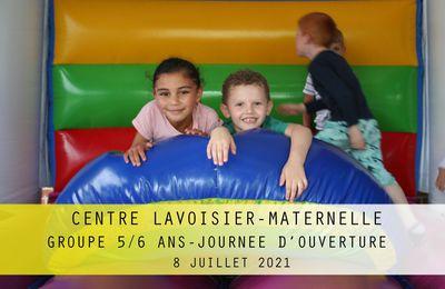 Centre LAVOISIER Maternelle. Groupe 5/6 ans. Juillet 2021.