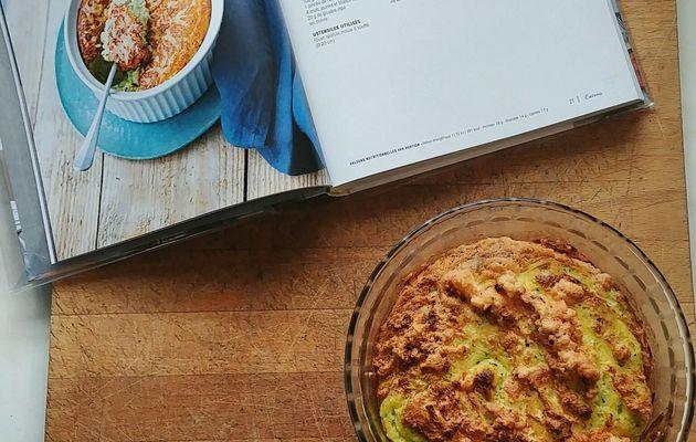 Soufflé aux courgettes et au gorgonzola