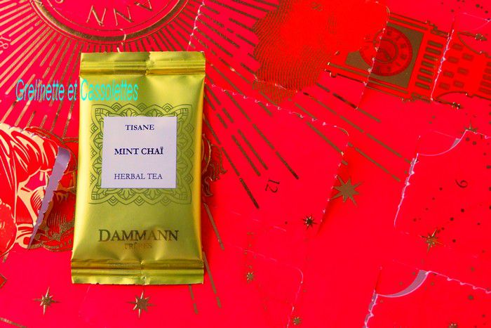 Mint Chaï, Herbal Tea 626 de Dammann
