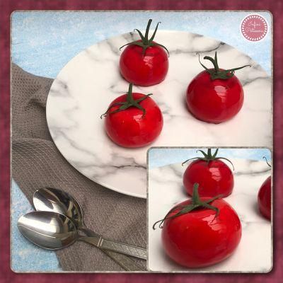 Entremets tomates 🍅 en trompe l'œil 👁