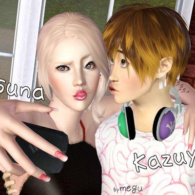 Screenshot : Asuna&Kazuya Yano