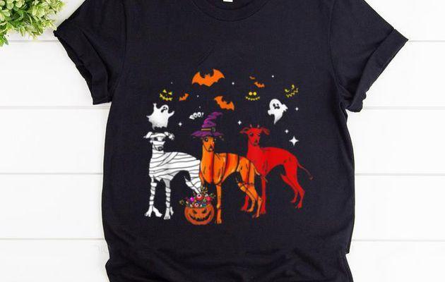 Beautiful Three Greyhound Halloween Gifts shirt