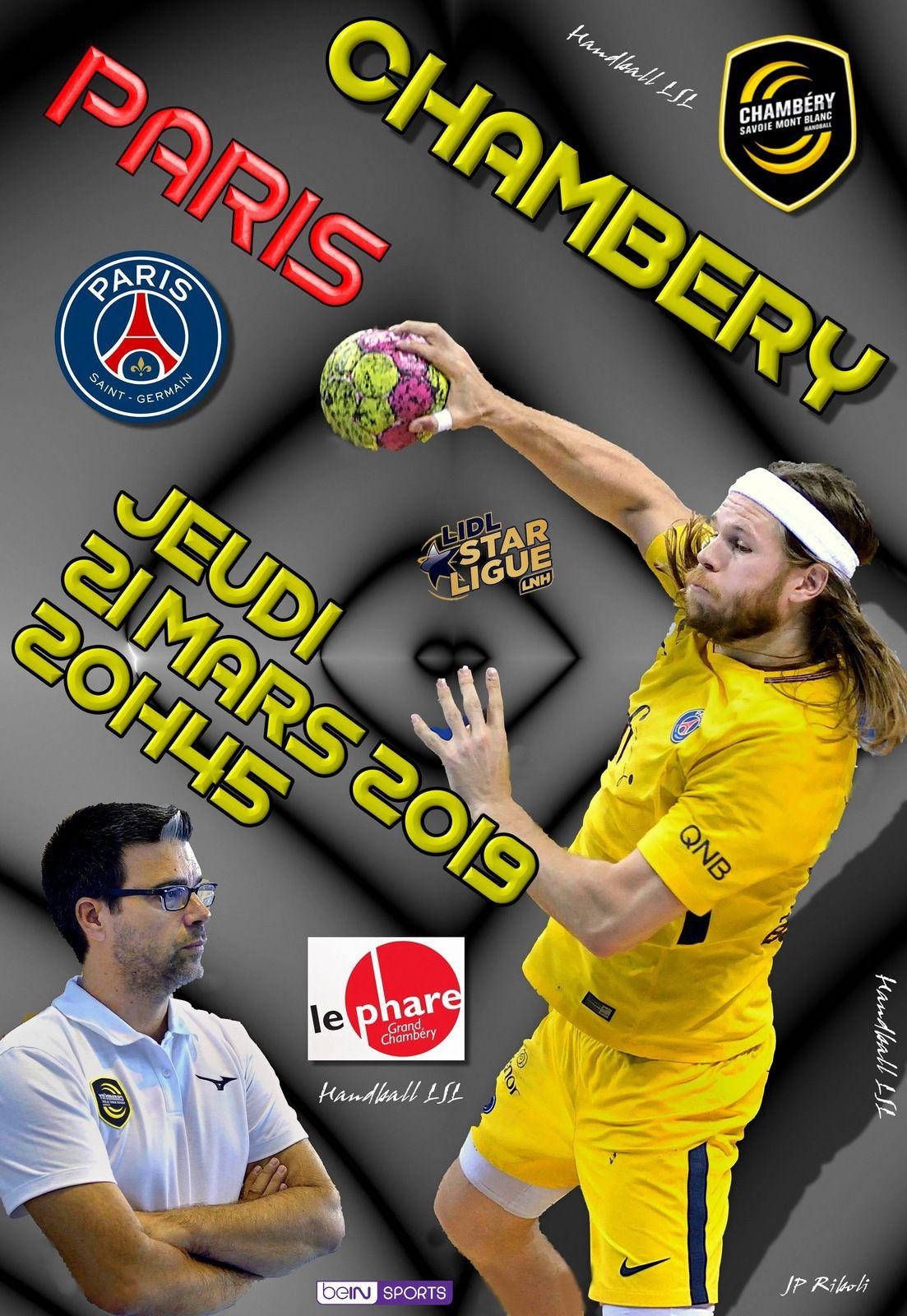 QUE LA FÊTE SOIT BELLE ! CHAMBERY VS PARIS MERCREDI 26 MAI 2021 - 18:00
