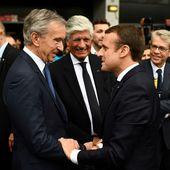 #Présidentielle2022 et contrôle des médias : #Macron accorde un prêt de 465 millions d'euros au groupe Lagardère - MOINS de BIENS PLUS de LIENS