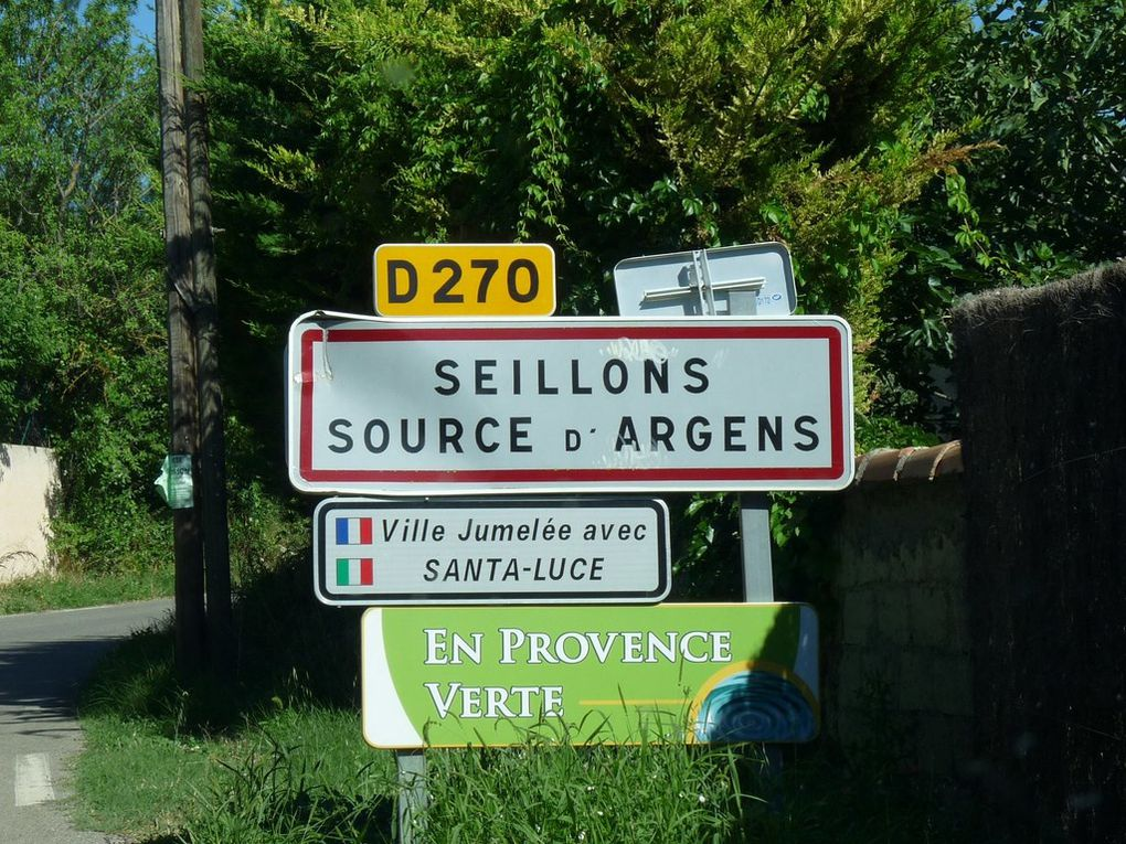 SEILLONS - SOURCE D'ARGENS   83470