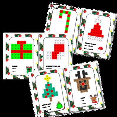 Noël : les cubes unions en action