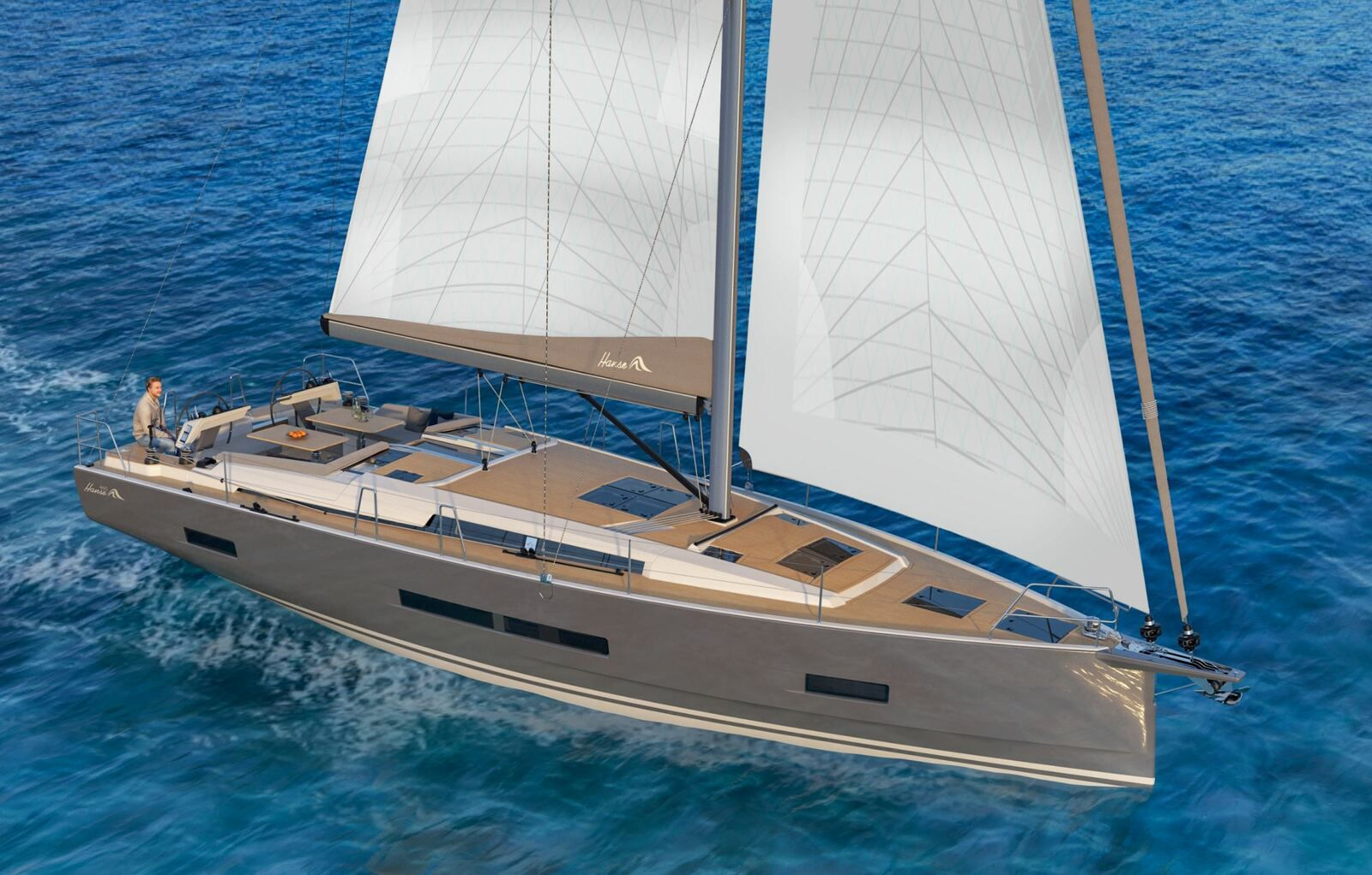 Sailing news - The new Hanse 460 yacht is styled by Berret Racoupeau