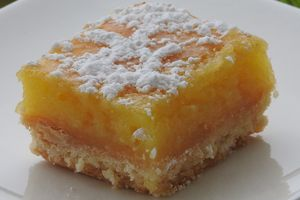 CARRES AU CITRON (thermomix)