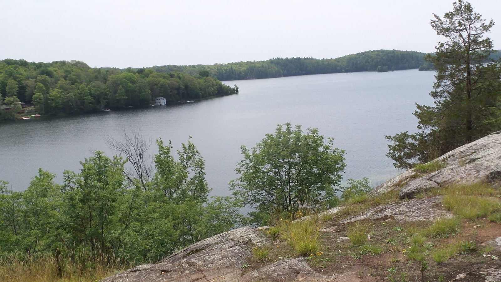 Jour 1 - Rideau Trail Lac Gould