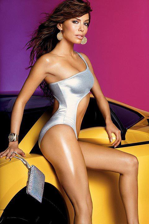 Eva Longoria de desparate housewives. Le charme, le glamour...