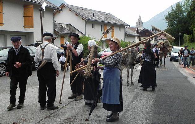 Les moissons à la fête des montagnes d'Ugine le 04.09.11