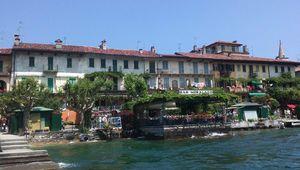 "Italie - Lac Majeur ""Isola dei Pescatori"""